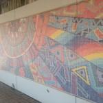 モザイク壁画「つづきの太陽」