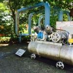 新田緑道 機械の広場