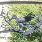 ゲート装飾 (鷹)