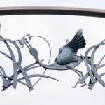 ゲート装飾 (水鳥1)