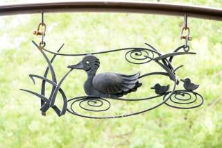 ゲート装飾 (水鳥2)