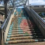 中川駅の階段アート【2】